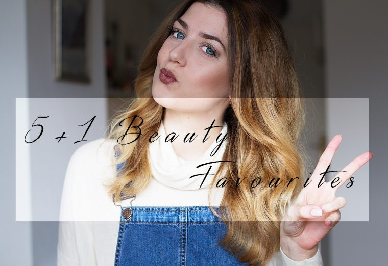 5+1 Beauty Favourites