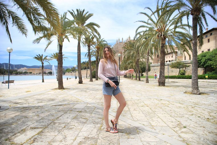 Outfit in Palma Mallorca