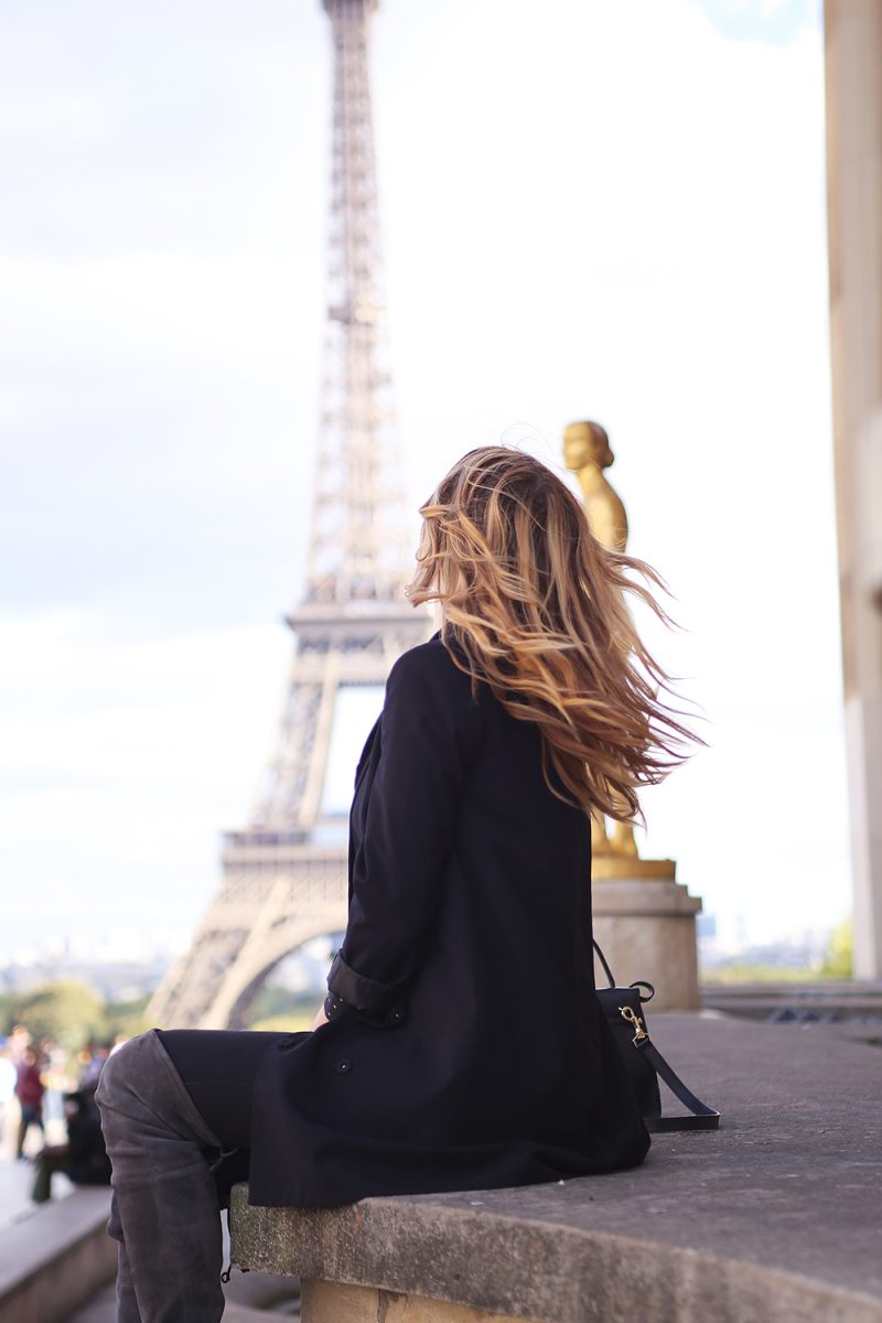 Paris Eiffel tower, Fashionblog from Munich