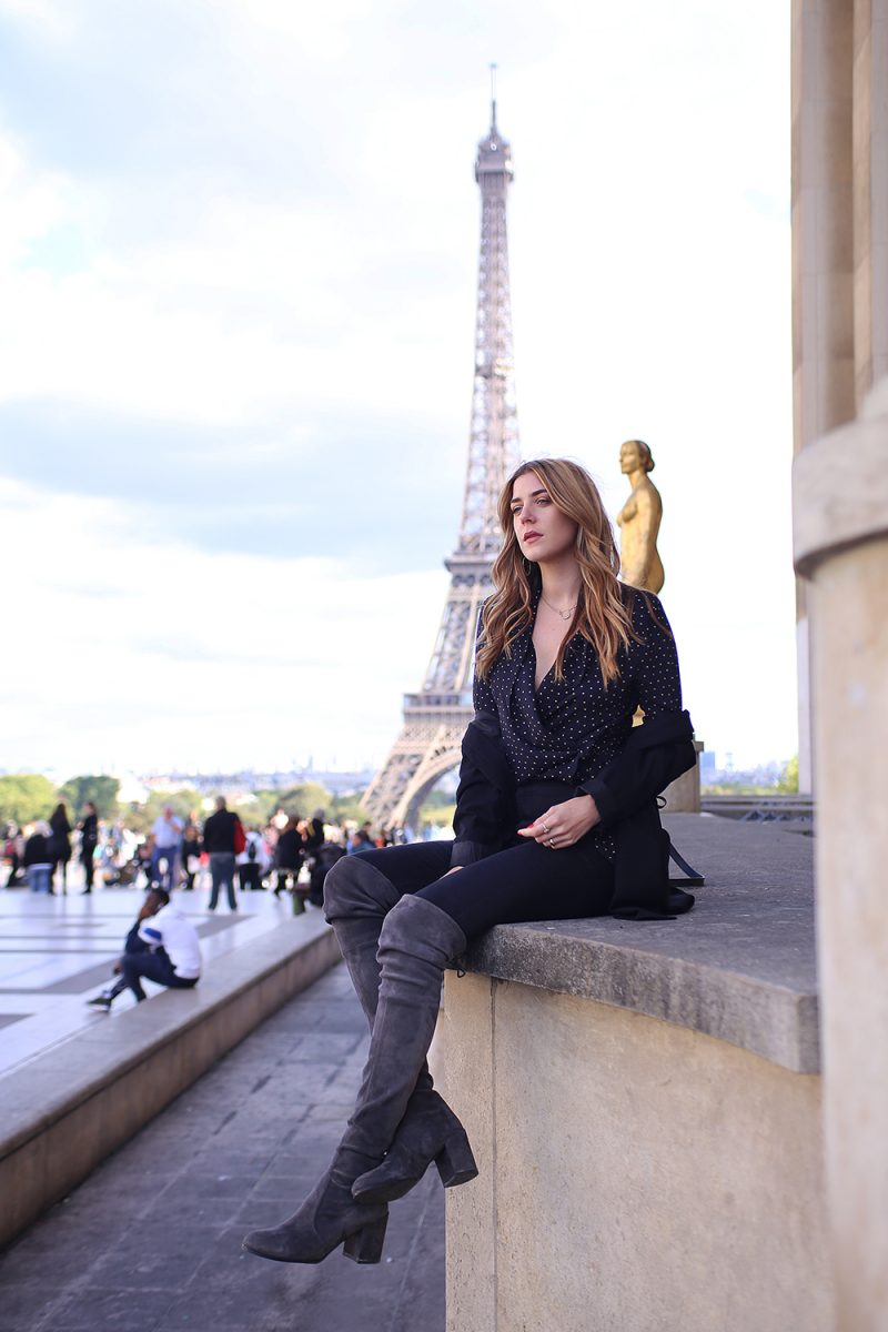 Eiffel tower fashion picture inspiration