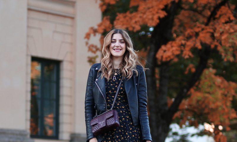 Prada Diagramme Bag burgundy. Fashionblog from Munich