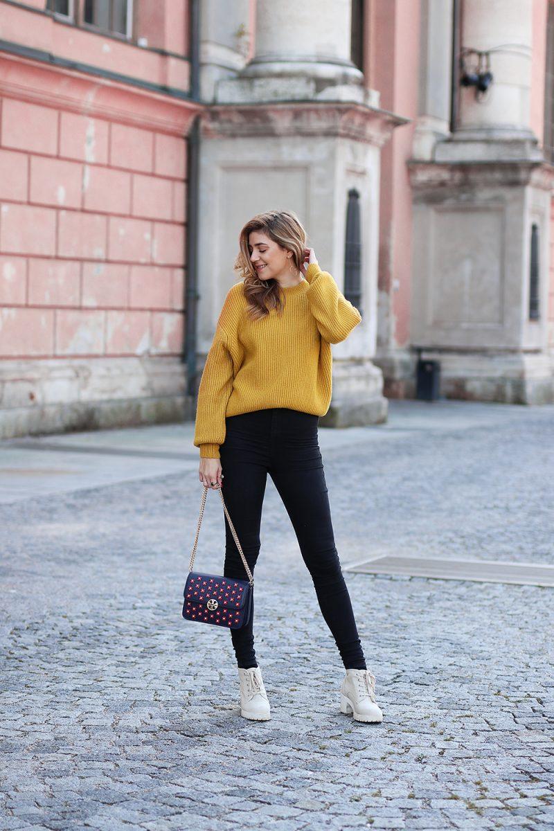 Tasche mit Perlen von Tory Burch, Fashionblog aus München