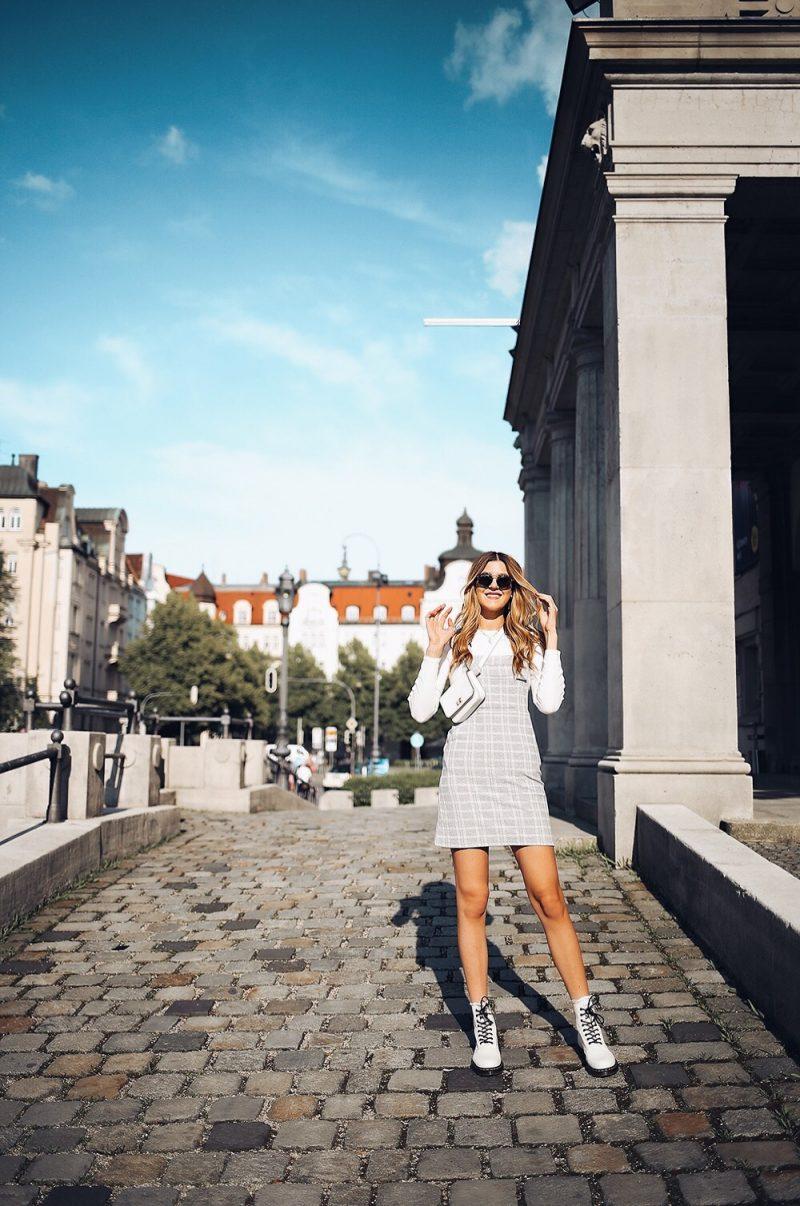 Latzkleid von Topshop, Modeblog aus München