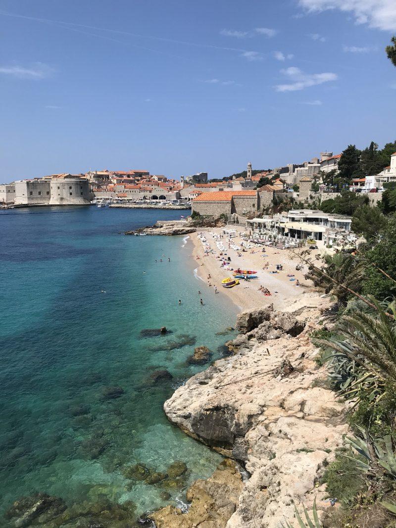 Banje Beachclub in Dubrovnik, Reiseblog aus Deutschland