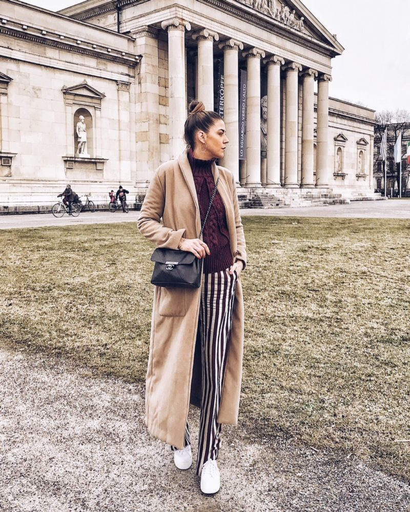 Modeblog aus München Chaneltasche und Camelcoat