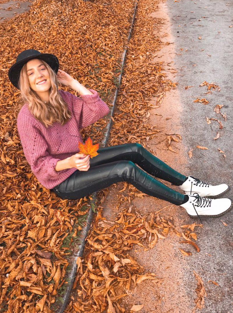 Herbstliches Outfit mit Dr Martens