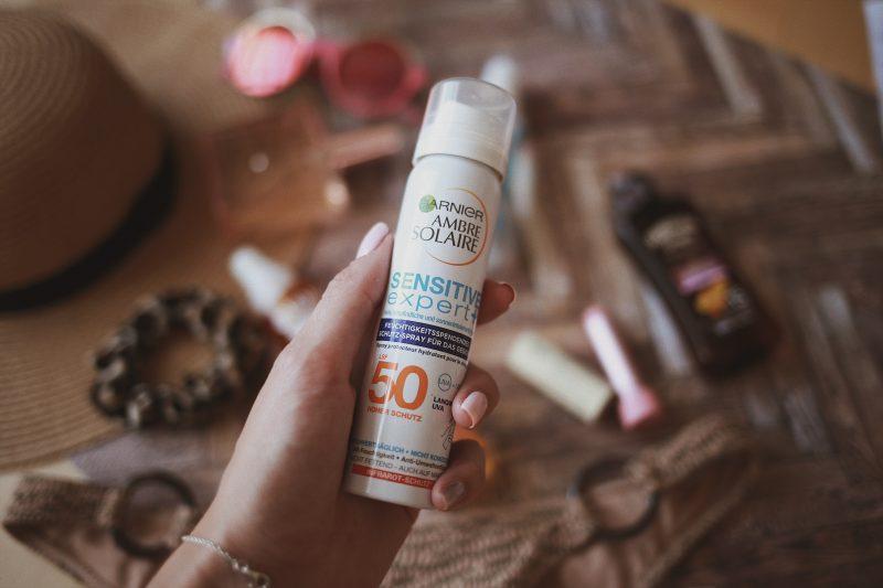 Garnier Ambre Solaire Sensitive expert+ Spray - Fechtigkeitsspray LSF 50